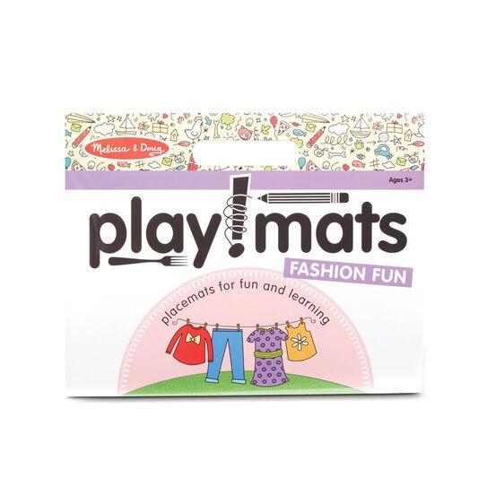 Playmats Pad - Fashion Fun #31433 Melissa & Doug
