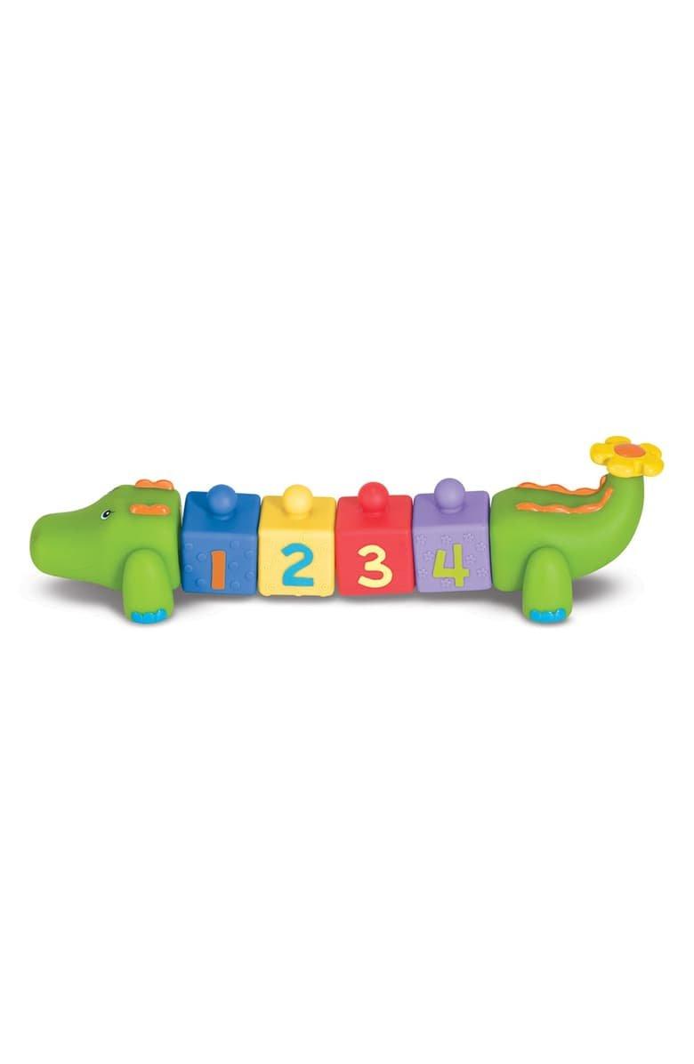 Melissa & Doug Pop Blocks Crocodile