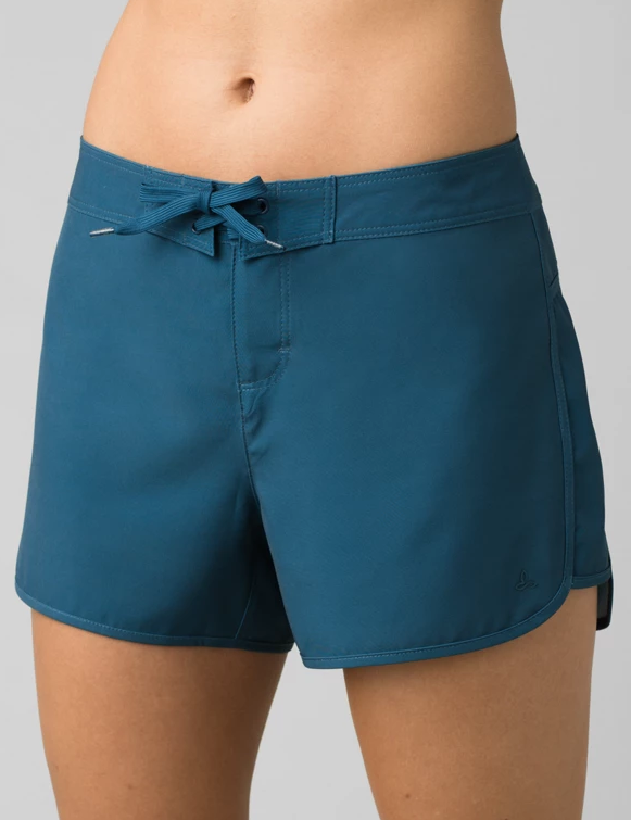 W's Prana Schaffie Short in Atlantic Blue