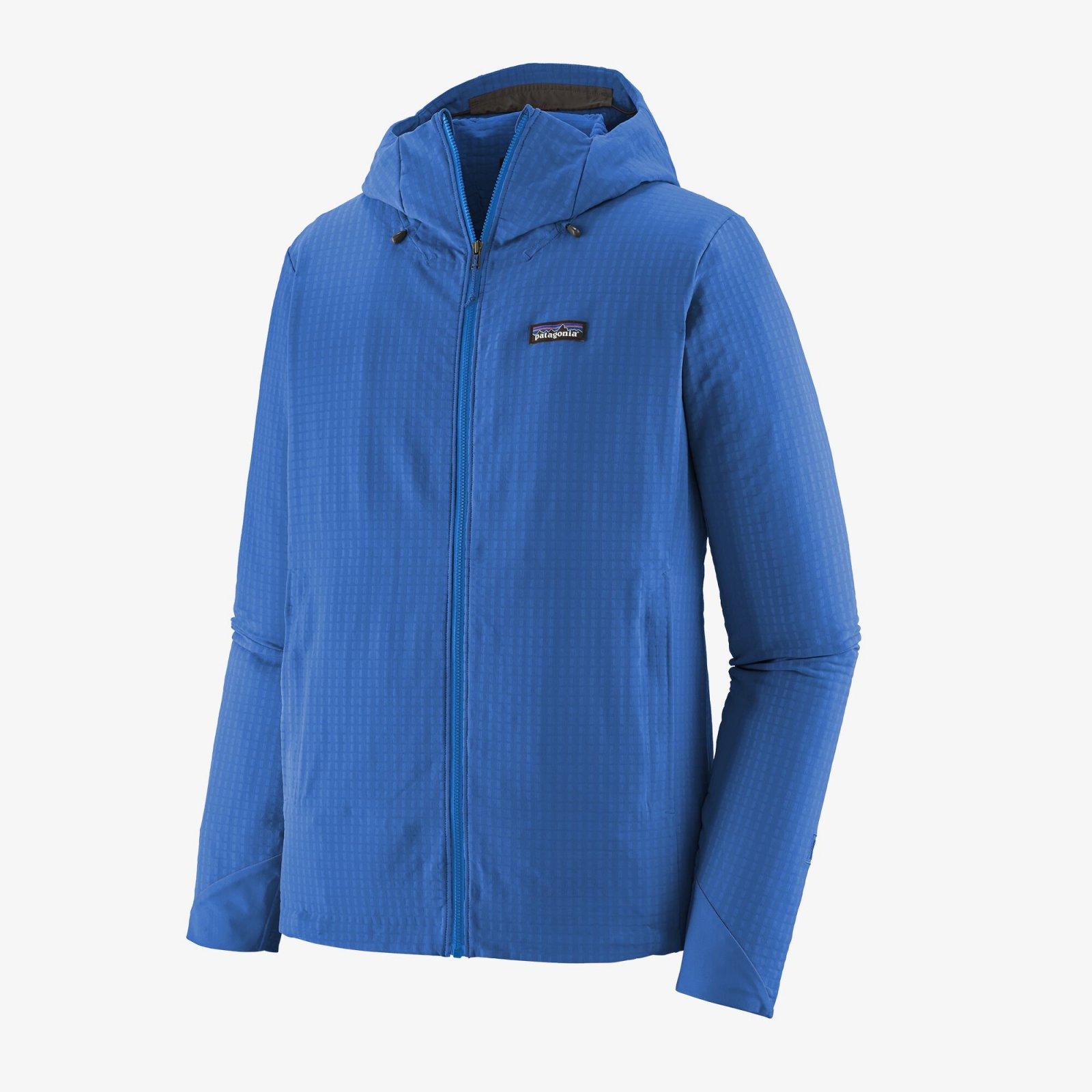 Men's Patagonia R1 TechFace Hoody - Superior Blue