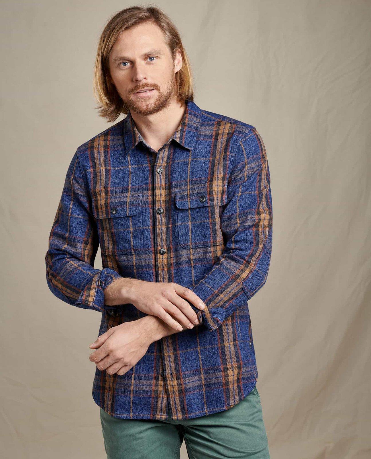 Men's Ranchero L/S Shirt Blue Moon