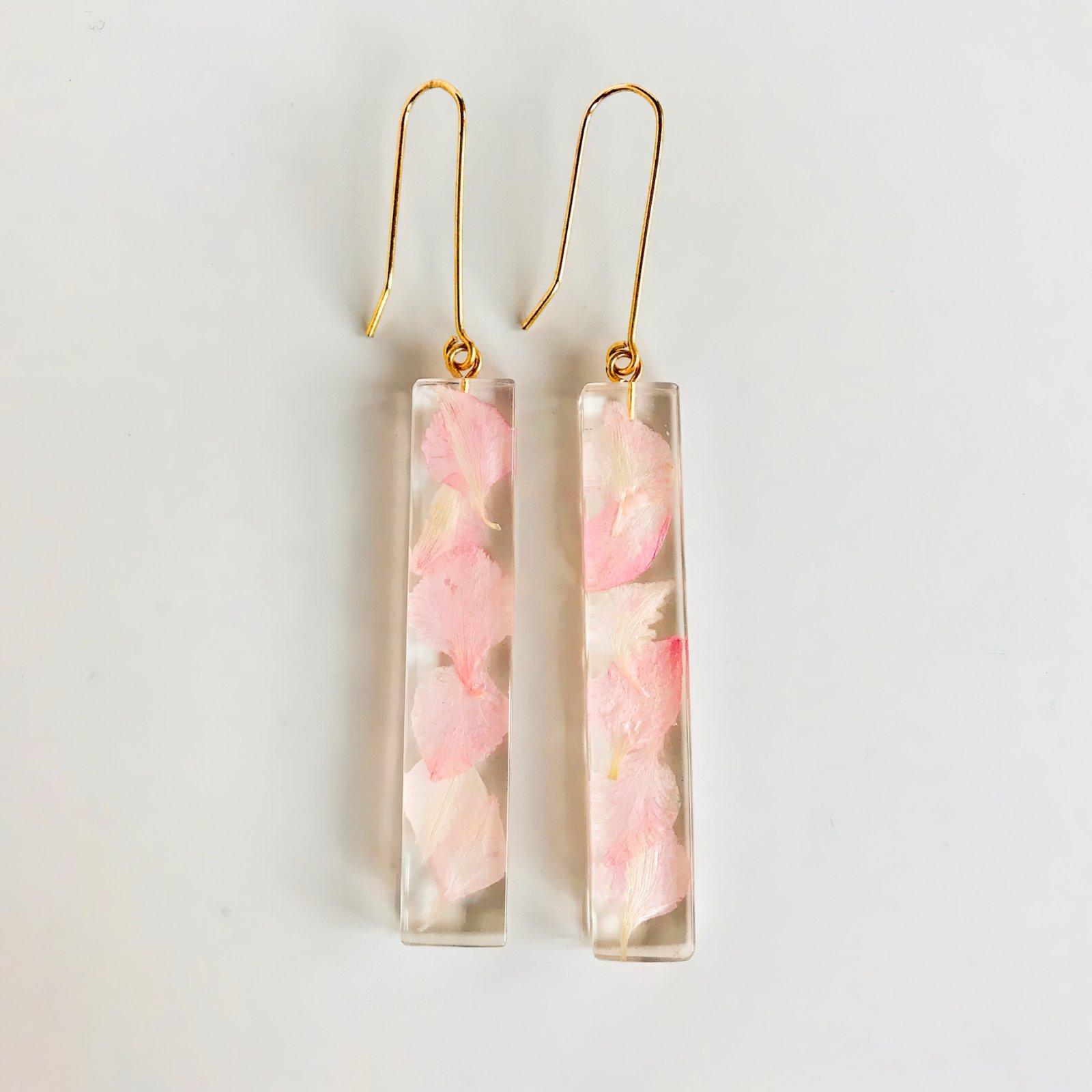 Botanical Cherry Polito Bar Earrings