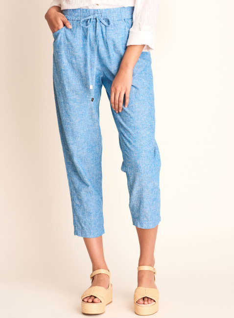 W's Sierra Pants in Chambray by Hatley