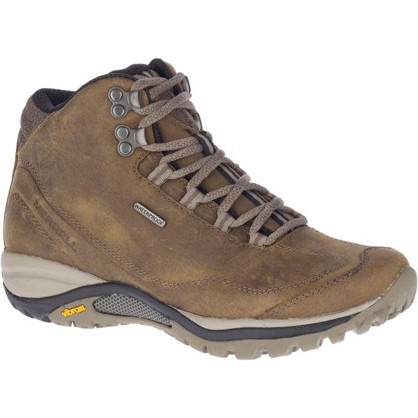 W's Merrell Siren Traveller 3 Mid Waterproof in Brindle