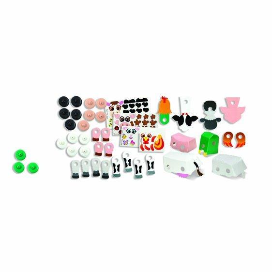 Snap It Beginner Craft Kit - Barnyard #30186 Melissa & Doug