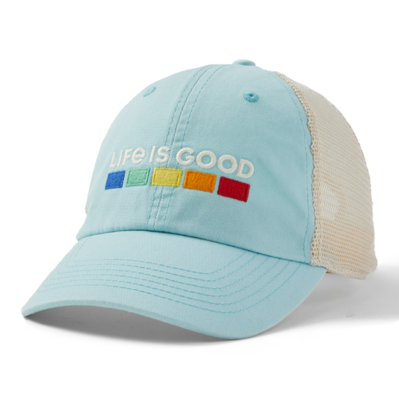 Life is Good Soft Mesh Back Hat - All Colors