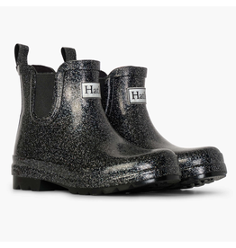 Girls Starry Night Ankle Bootie - Silver