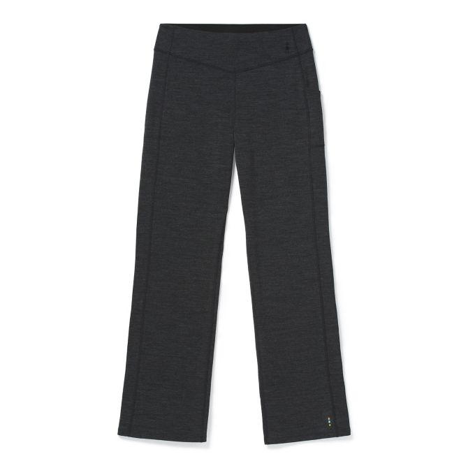 W's Smartwool Merino Sport Straight Leg Pant - Charcoal