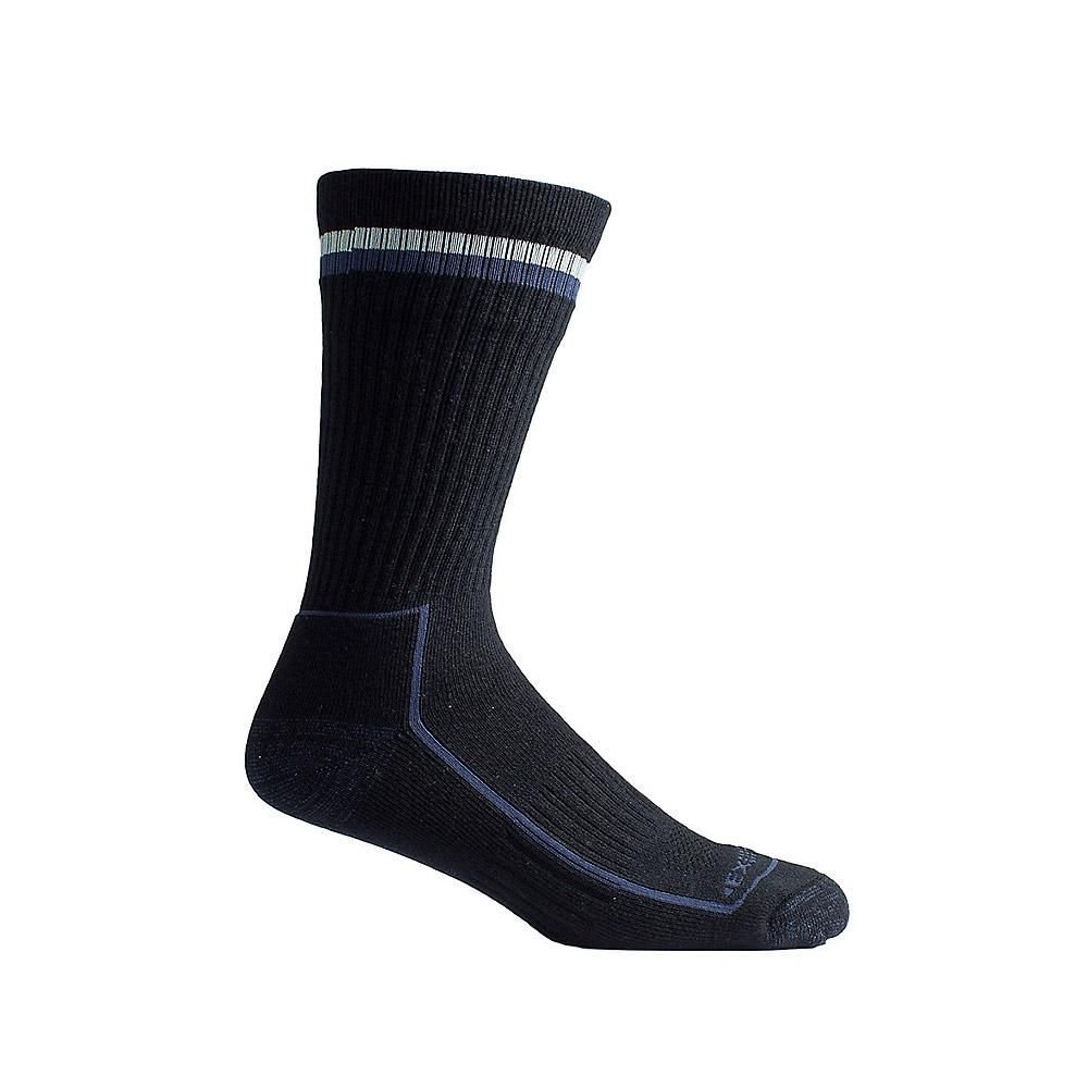 Men's BugsAway Stripe Crew Sock Black