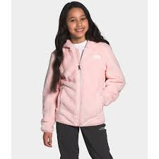 Girls Suave Oso Hoody in Pink Salt by North Face