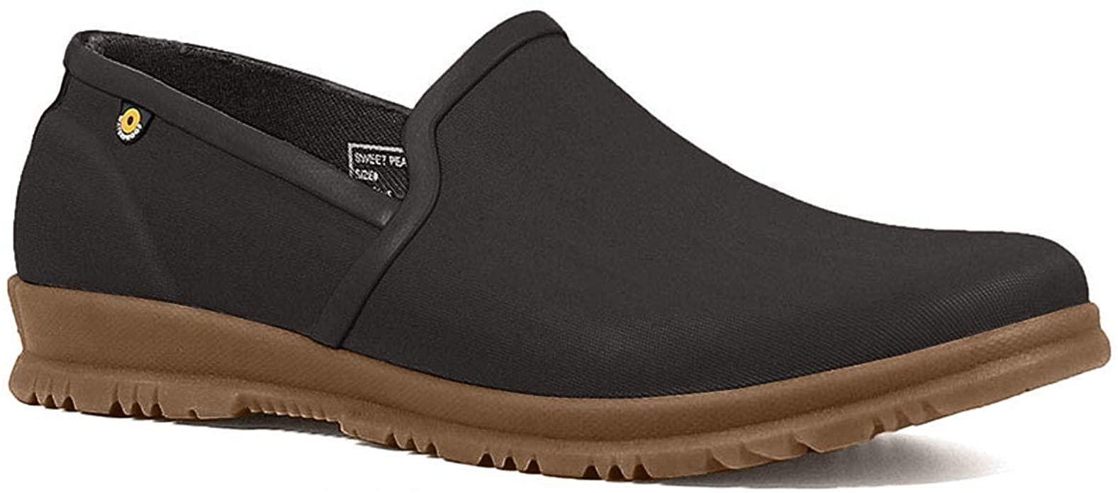 W's Bogs Sweet Pea Slip On Waterproof Shoe Black