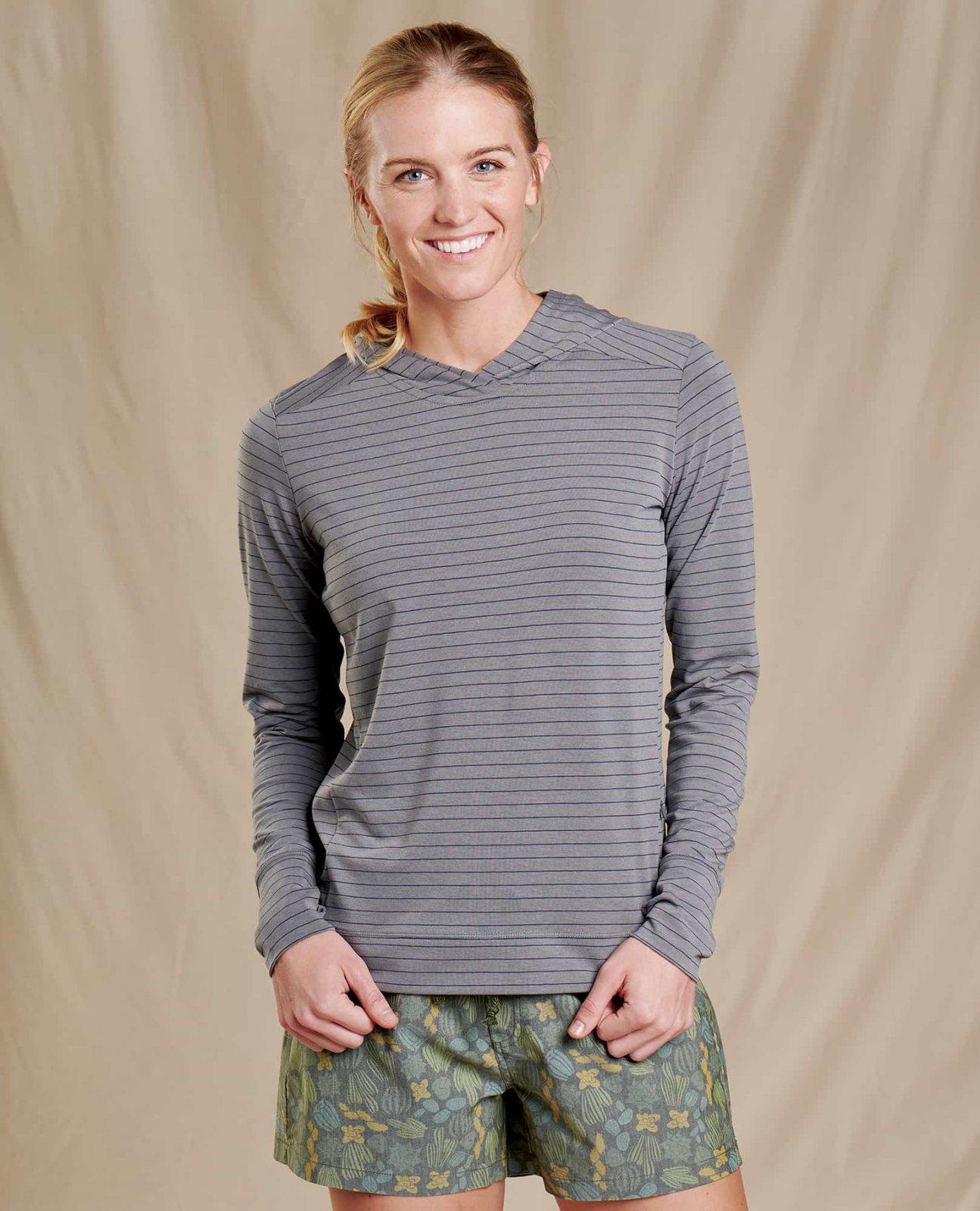 Women's Debug Swifty Hoody - Grey Stripe