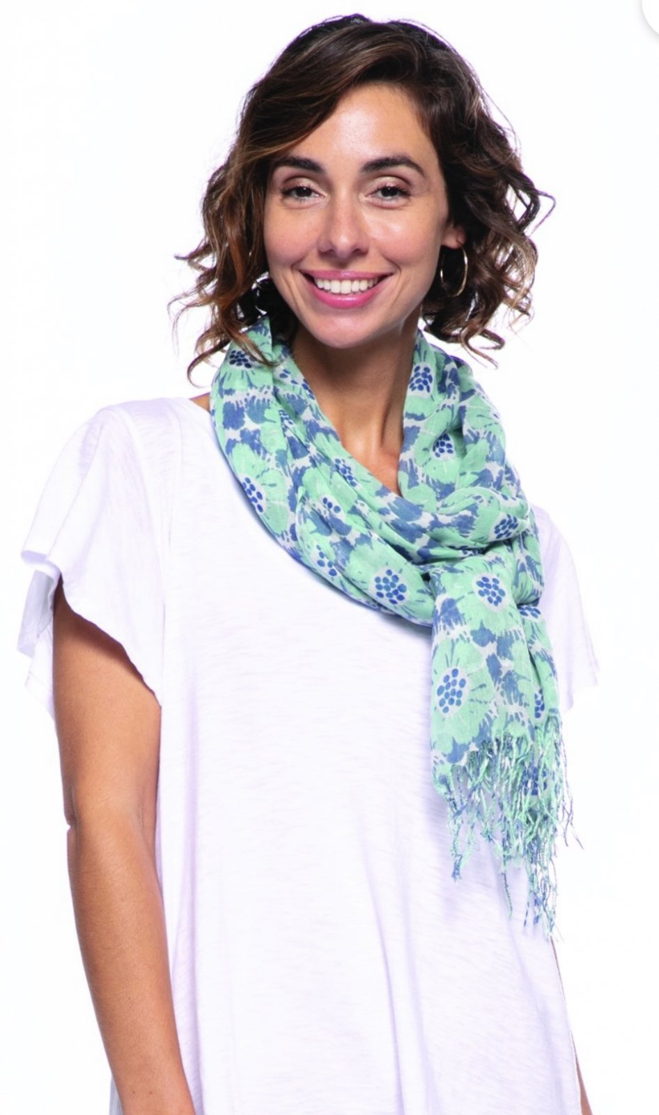 Talia Ocean Luxe Featherweight Scarf