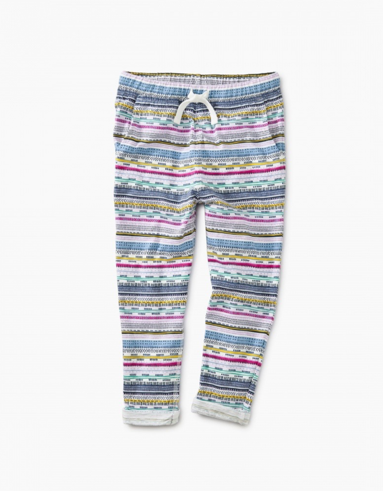 Girls Printed Knit Jogger by Tea Collection