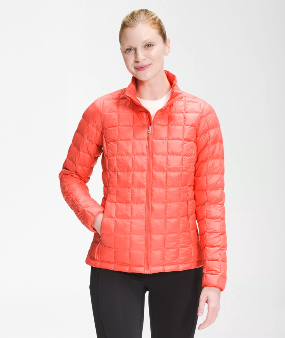 W's North Face Thermoball Eco Jacket - Emberglow