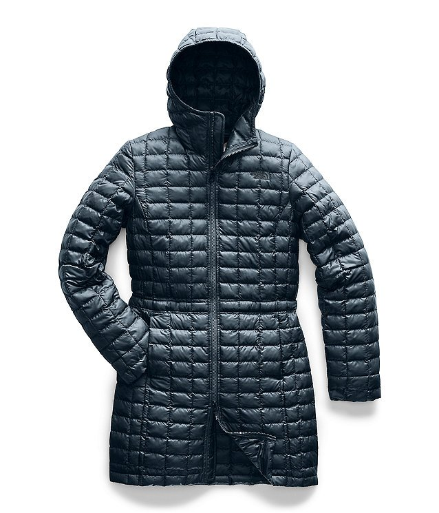 W's Eco Thermoball Parka in Aviator Navy by North Face