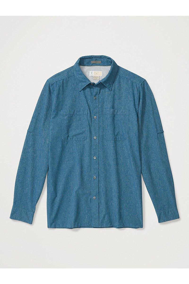 Men's BugsAway Tiburon Long Sleeve Shirt - Galaxy