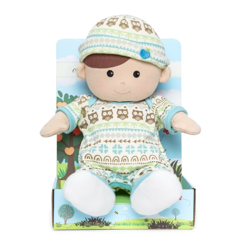 Organic Toddler Baby Doll - Blue
