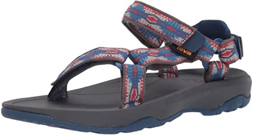 Teva Toddler Hurricane XLT 2 Grey/Blue/Red Print