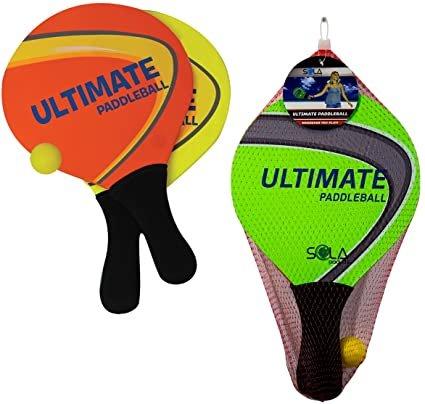 Ultimate Wooden Paddleball Set