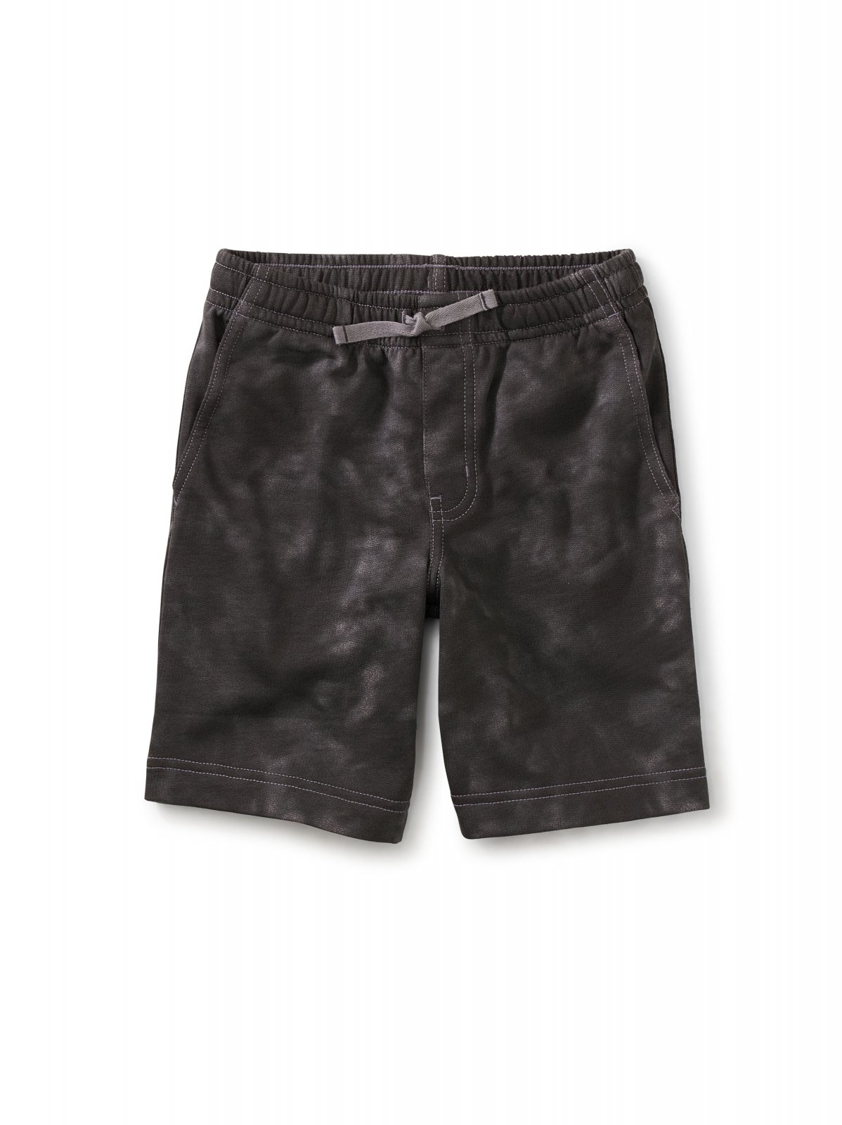 Boys Vacation Shorts in Grout Tie Dye by Tea Collection