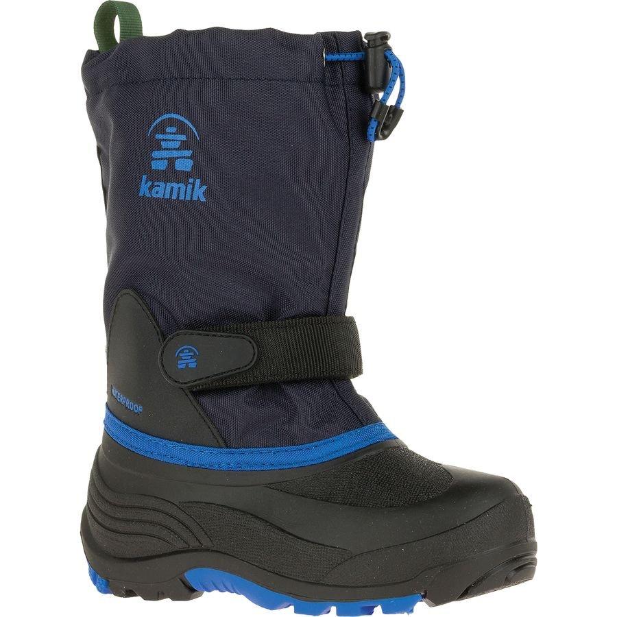 Children Kamik Waterbug5 Boots in Navy Blue