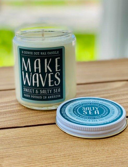 8oz Soy Candle - Make Waves