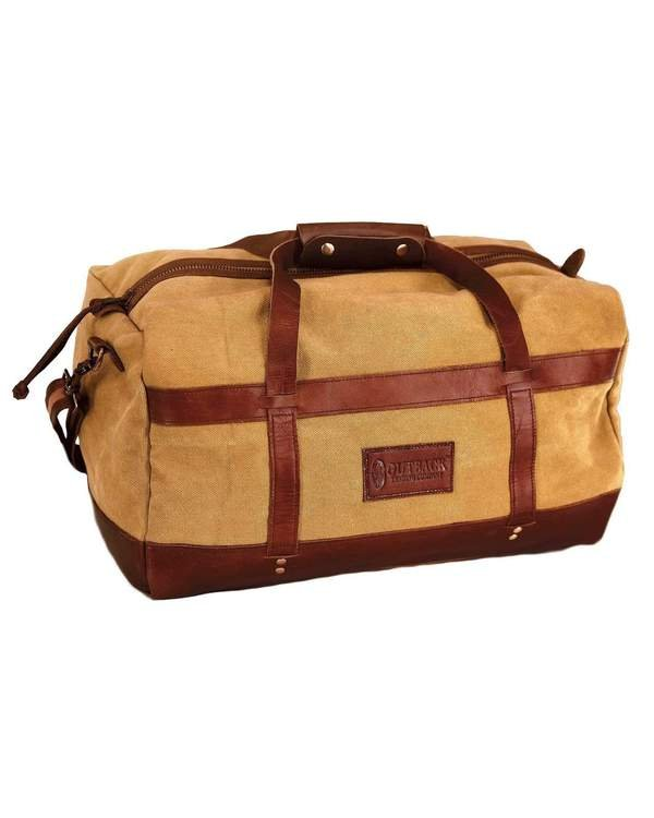 Outback Canvas & Leather Weekender Duffel