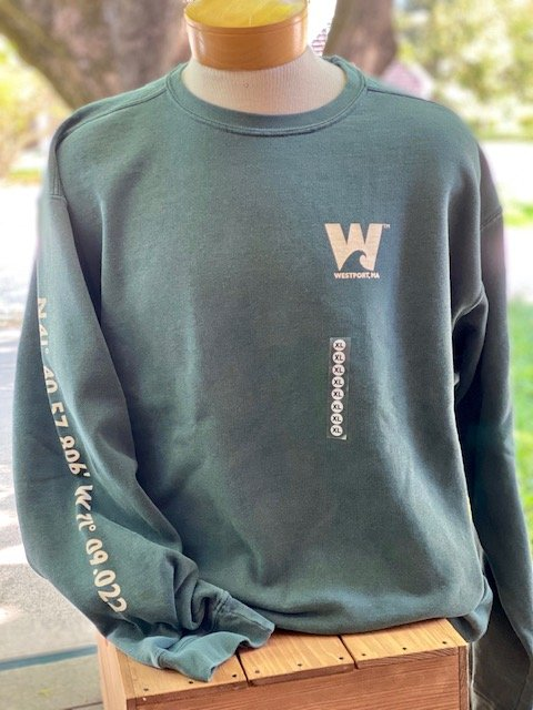 TownWear Men's Westport Crewneck Sweatshirt - Forest Green