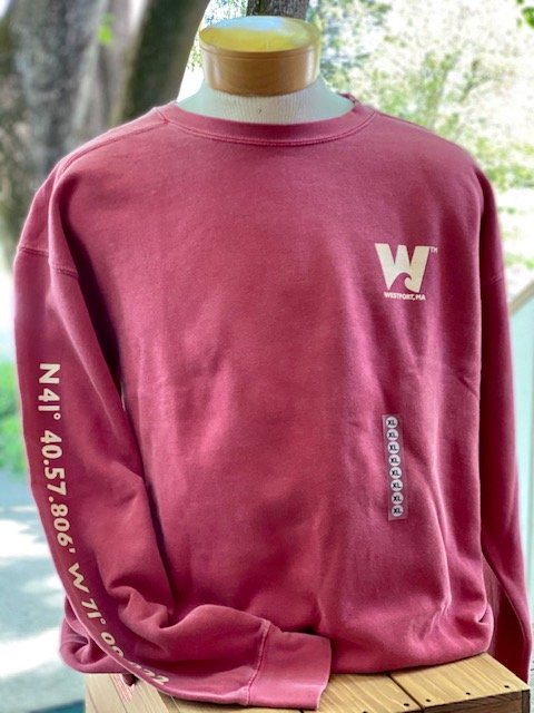 TownWear Men's Westport Crewneck Sweatshirt - Red