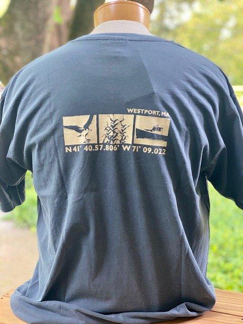 M's Townwear Westport Short Sleeve T Shirt - Dark Blue