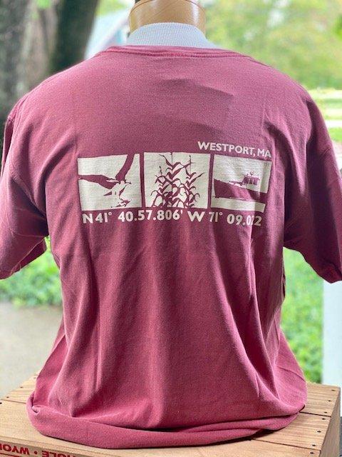 M's Townwear Westport Short Sleeve T Shirt - Crimson