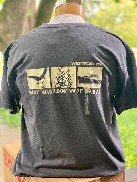 M's Townwear Westport Short Sleeve T Shirt - Charcoal