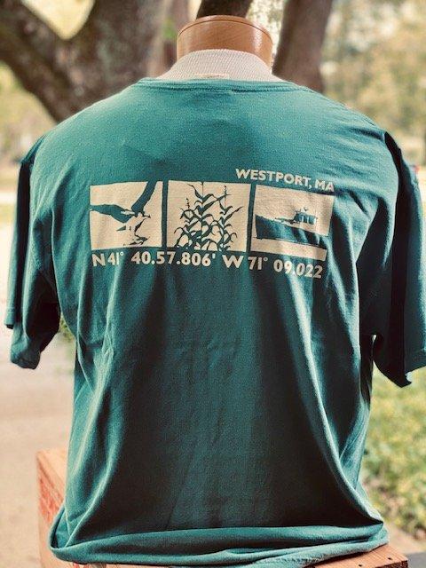 M's Townwear Westport Short Sleeve T Shirt - Blue Spruce