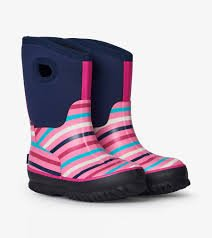 Girls Winter Stripe All Weather Boots by Hatley SALE