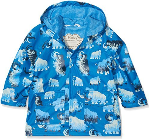 Boys Wooly Mammoth Terry Lined Raincoat SALE