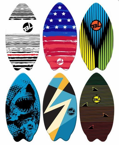 41 Wooden Skim Board