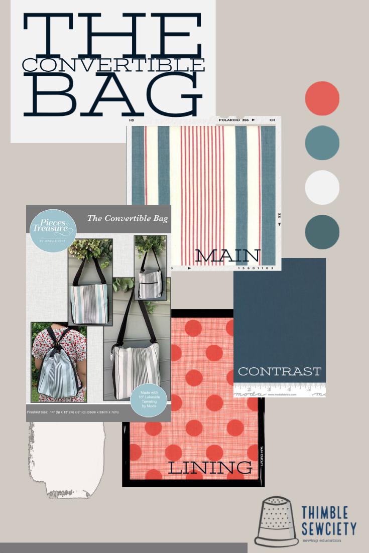 Sew Along Kit: The Convertable Bag