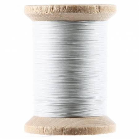 YLI Cotton Hand Quilting Thread 3-ply T-40 400yds White