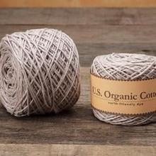 Appalachian Baby Design Organic Cotton Yarn - Baby Silver