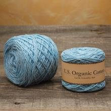 Appalachian Baby Design Organic Cotton Yarn - Baby Blue