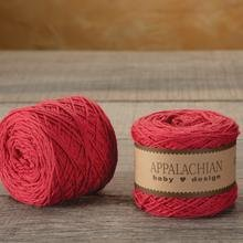Appalachian Baby Design Organic Cotton Yarn - Huckleberry Red
