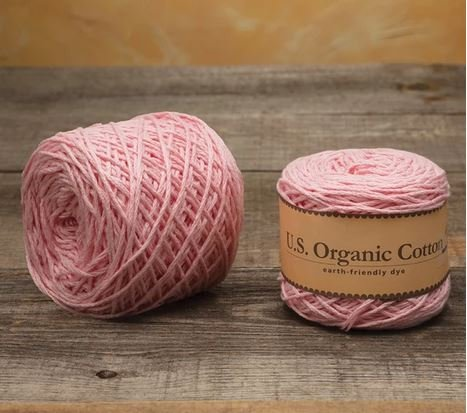 Appalachian Baby Design Organic Cotton Yarn Blush