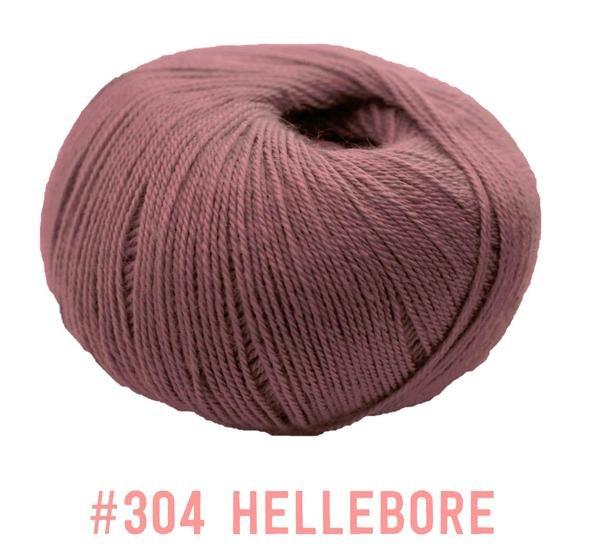 Knit One Crochet Too Winter Blossom 304 Hellebore