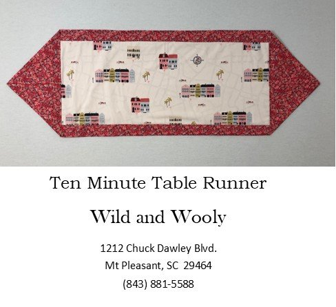 Ten Minute Table Runner - Charleston