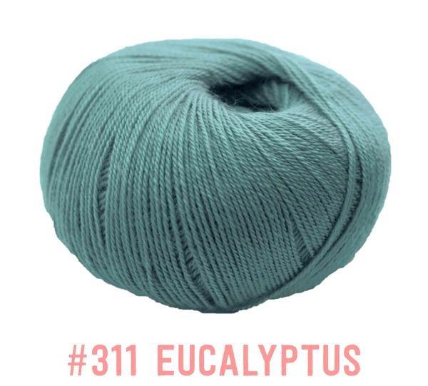 Knit One Crochet Too Winter Blossom 311 Eucalyptus