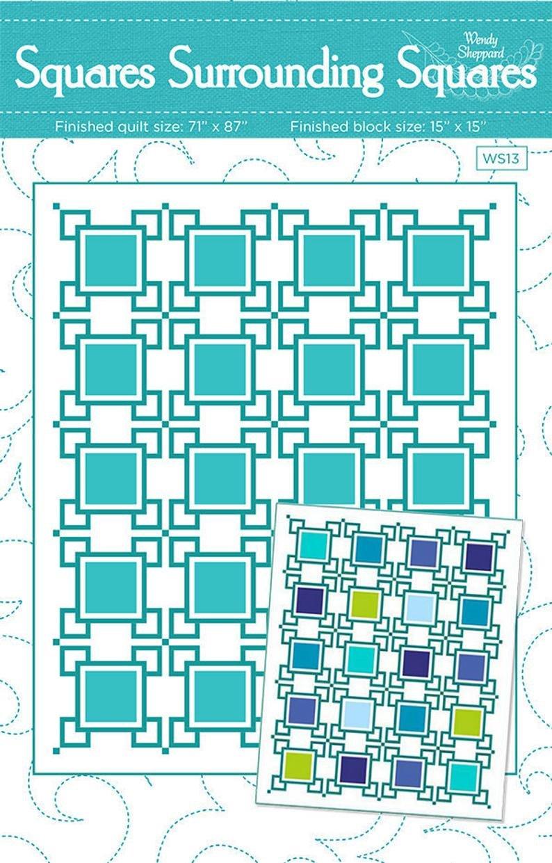 Squares Surrounding Squares