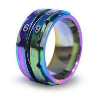 Knitters Pride Row Counter Ring-Multi color