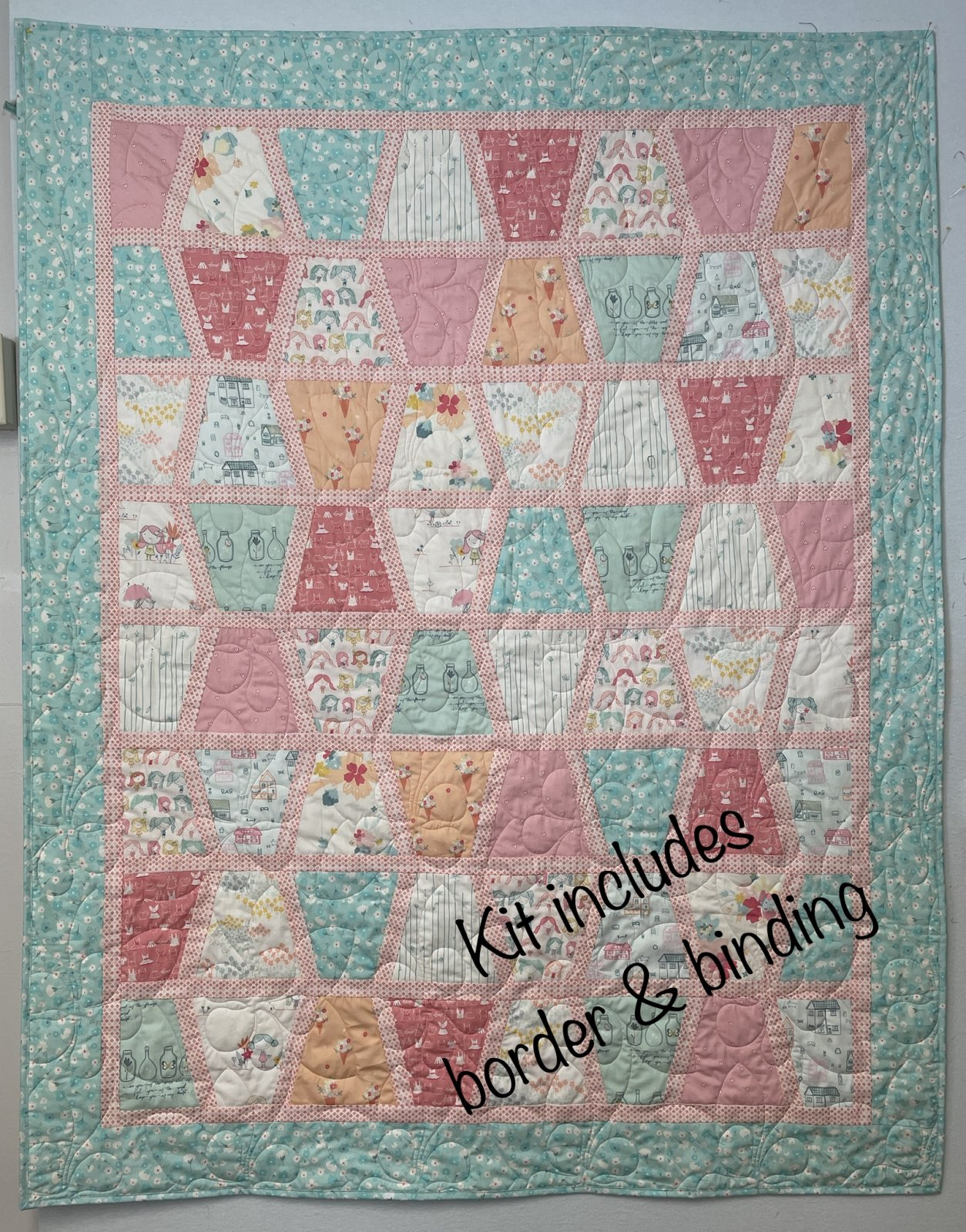 Daydream Sassy Tumbler Quilt Kit