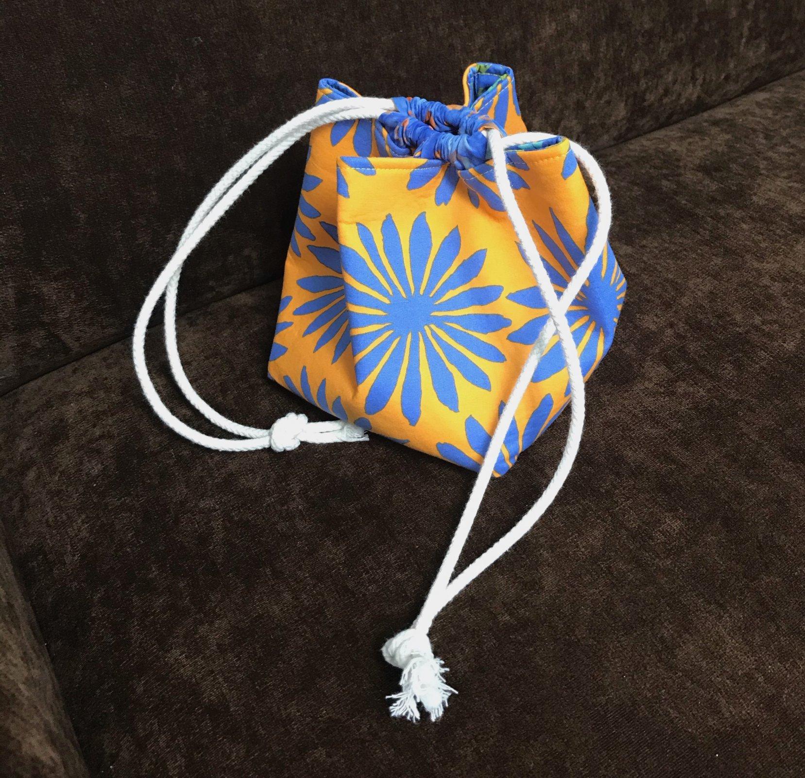 Project Bag Small, Gerbera Daisies